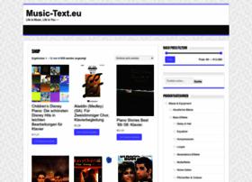 music-text.eu