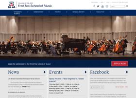 music.arizona.edu
