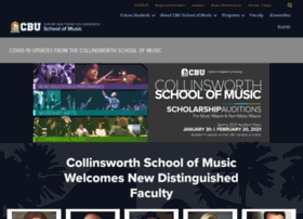 music.calbaptist.edu