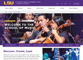 music.lsu.edu