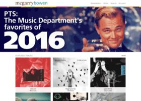 music.mcgarrybowen.com