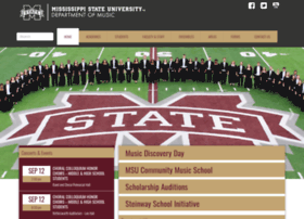 music.msstate.edu