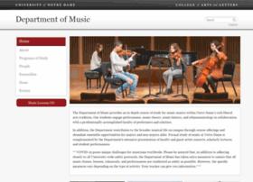 music.nd.edu