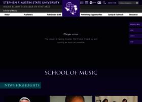 music.sfasu.edu