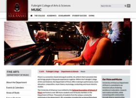 music.uark.edu