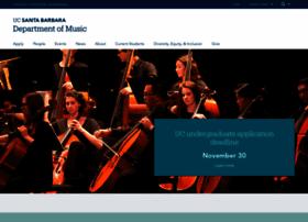 music.ucsb.edu