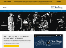 music.ucsd.edu