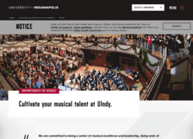 music.uindy.edu