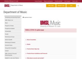 music.umsl.edu