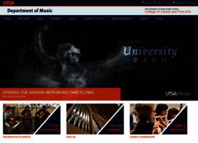 music.utsa.edu