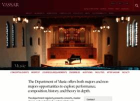 music.vassar.edu