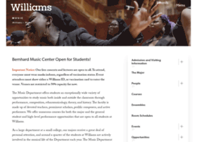 music.williams.edu