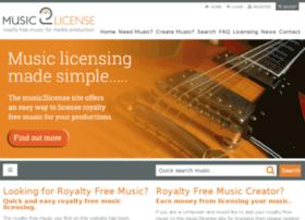 music2license.com