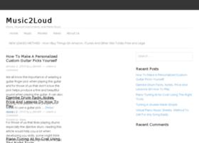 music2loud.com