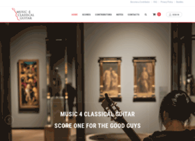 music4classicalguitar.com