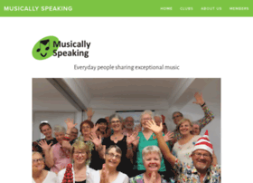 musicallyspeaking.org