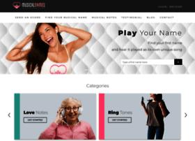 musicalnames.com