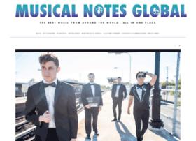musicalnotesglobal.com