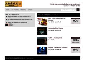 musicals.uk.com