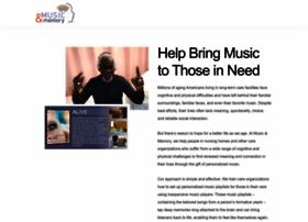 musicandmemory.org