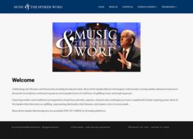 musicandthespokenword.com