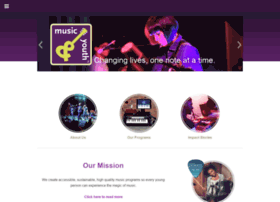musicandyouth.org