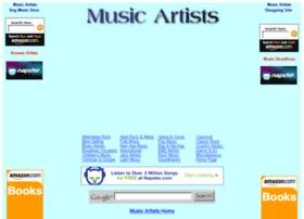 musicartists.biz