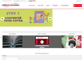 musicbookmaker.musicroom.com