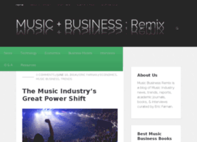 musicbusinessremix.com