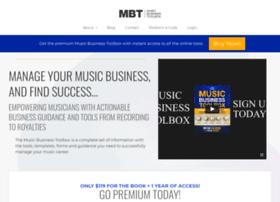 musicbusinesstoolbox.com
