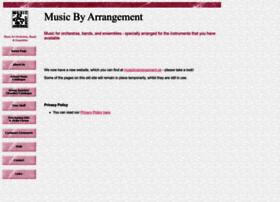 musicbyarrangement.co.uk