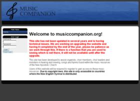 musiccompanion.org