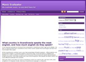 musicevaluator.com