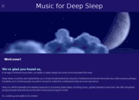 musicfordeepsleep.com