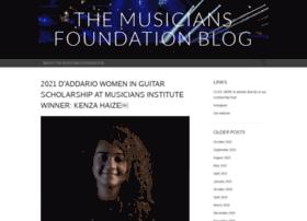 musiciansfoundation.wordpress.com