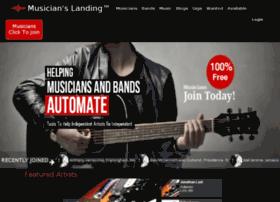 musicianslanding.com