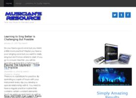 musiciansresource.net
