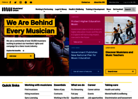 musiciansunion.org.uk