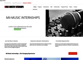 musicindustryinternships.com