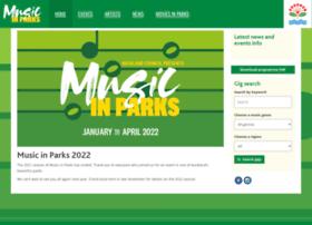musicinparks.co.nz