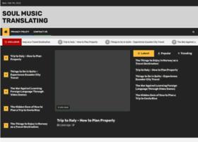 musicistheheartofoursoul.com