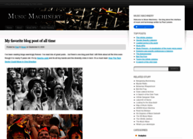 musicmachinery.com