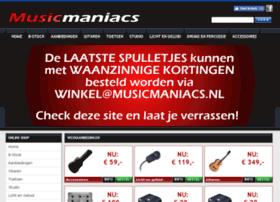 musicmaniacs.nl
