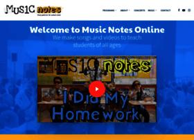 musicnotesonline.com