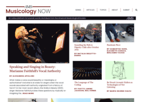 musicologynow.ams-net.org