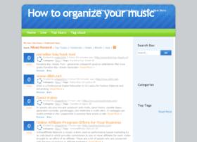 musicorganizer.info