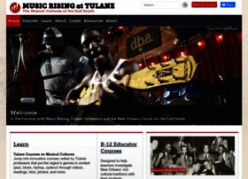 musicrising.tulane.edu