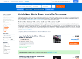 musicrowhotels.com