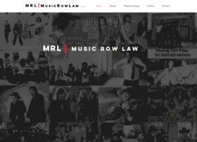 musicrowlaw.com