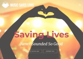 musicsaveslives.org